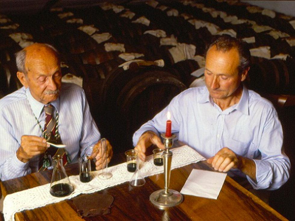 Edgar e Claudio assaggiano Balsamico Tradizionale
