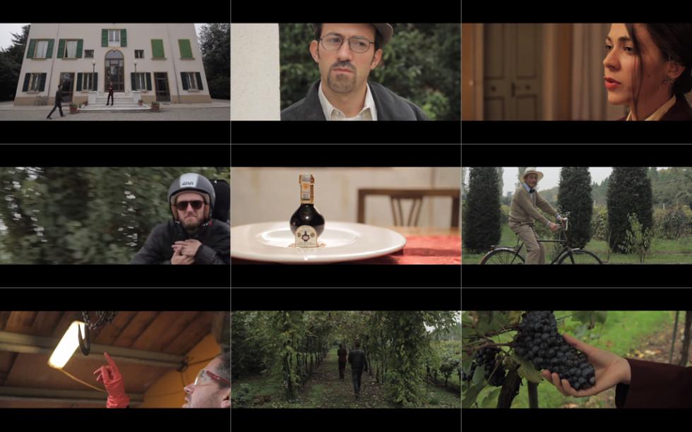 I luoghi e i protagonisti del video.